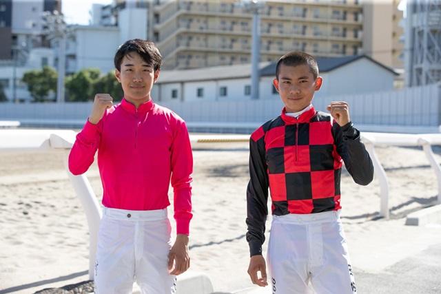 櫻井光輔騎手と古岡勇樹騎手