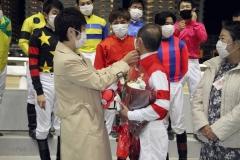201113 森下博元騎手引退セレモニー-27