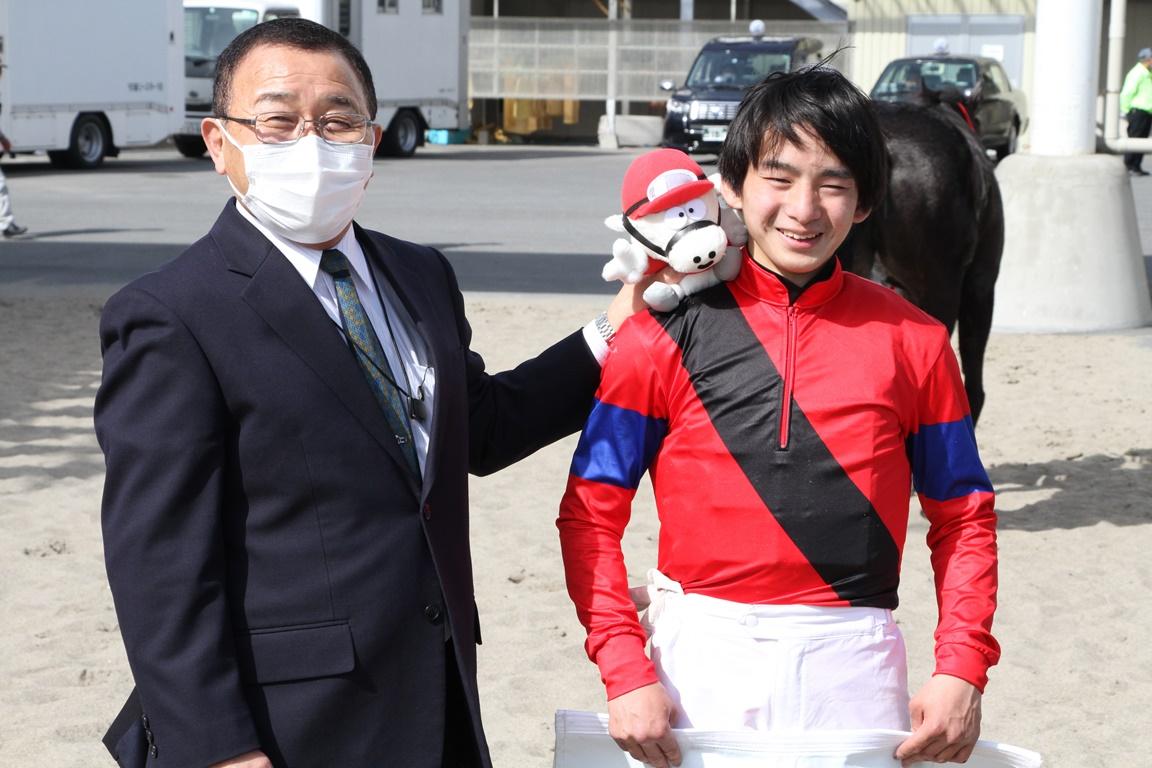210301 池谷匠翔騎手 川崎競馬場初勝利-05