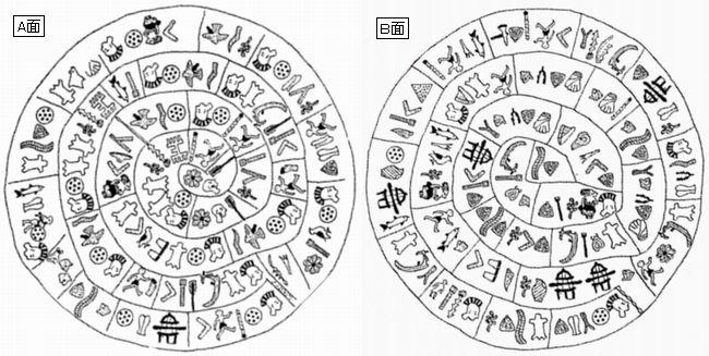 ファイストス円盤 「お神輿」
