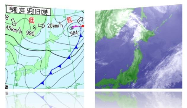 20200511天気図