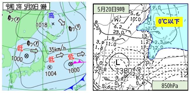20200520天気図