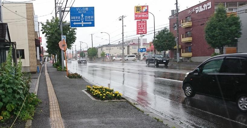 20200701雨の赤川通