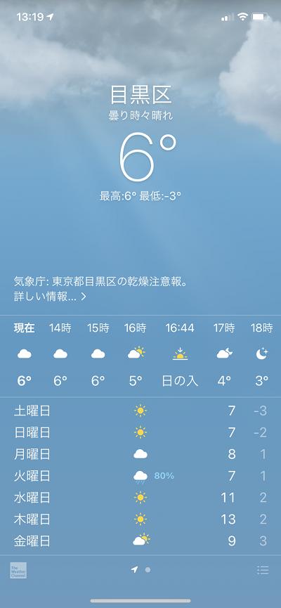 ちょっとあり得ない寒さ@東京2021年1月8日 by天空オフィシャルブログ所蔵画像