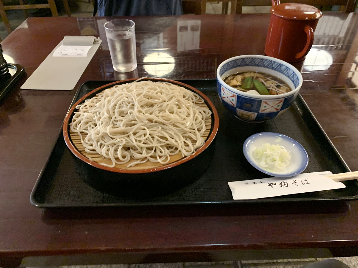 今日の昼は狐せいろ蕎麦 by天空オフィシャルブログ所蔵画像