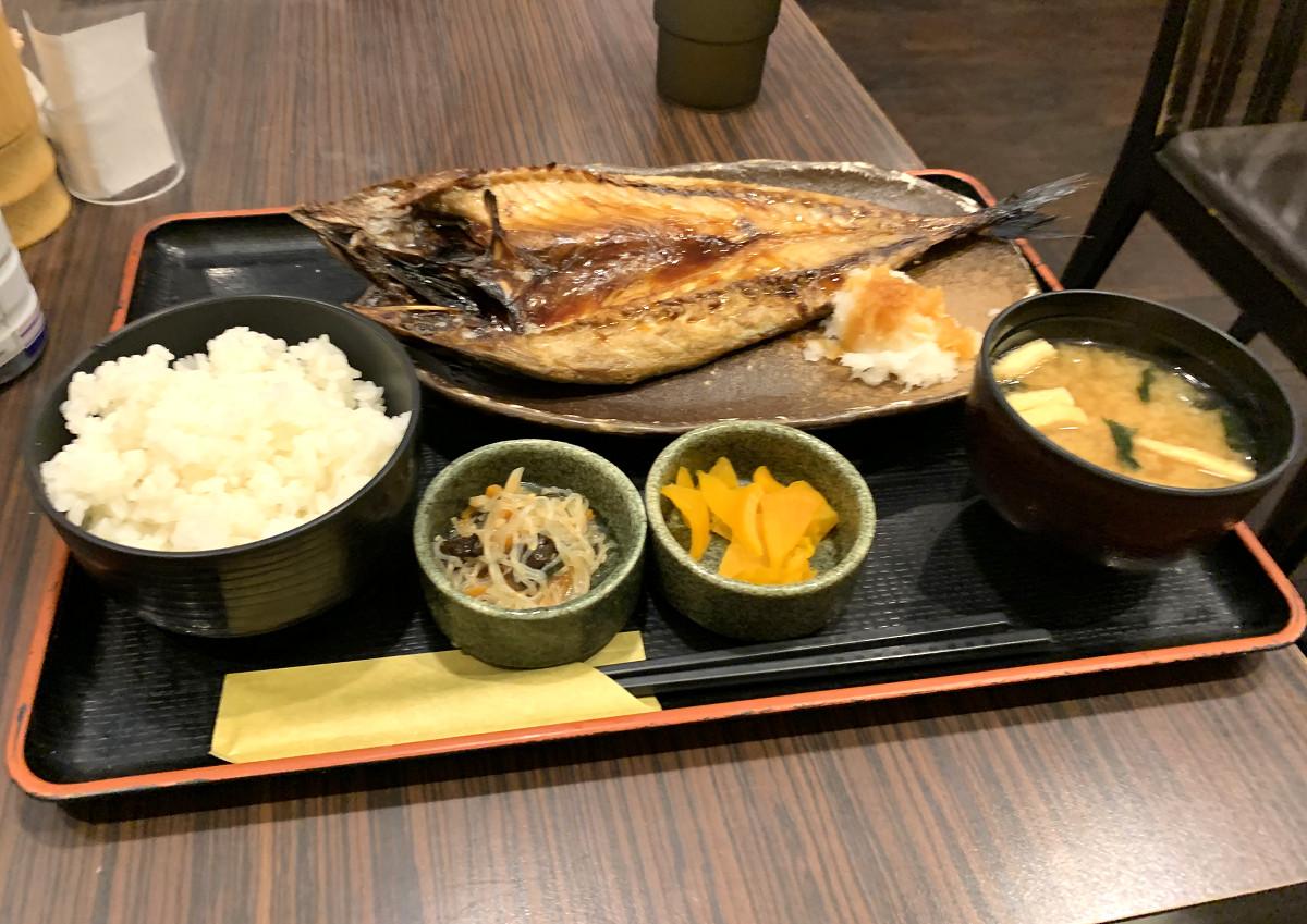 昼は金華サバ定食 by天空オフィシャルブログ所蔵画像