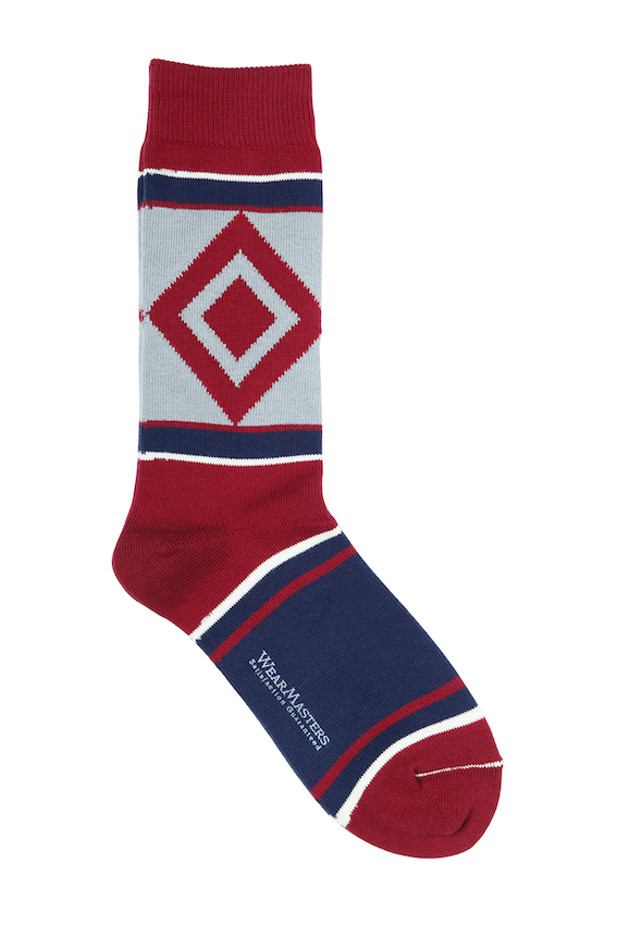655 DiamondoSportSox RED