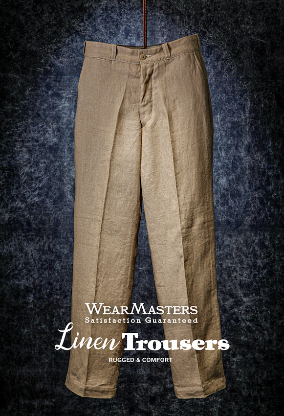 Lot411_Linen Trousers_Beige