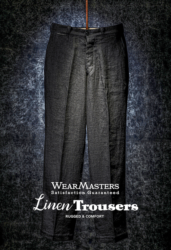 Lot411_Linen Trousers_Black
