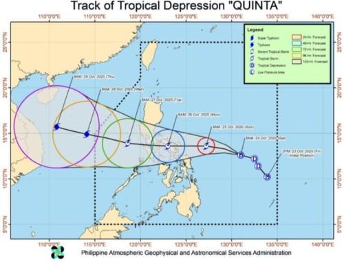 Track of Quinta102520