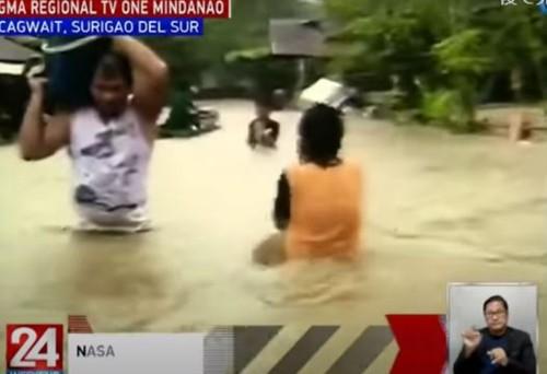 Surigao del Sur flood022121