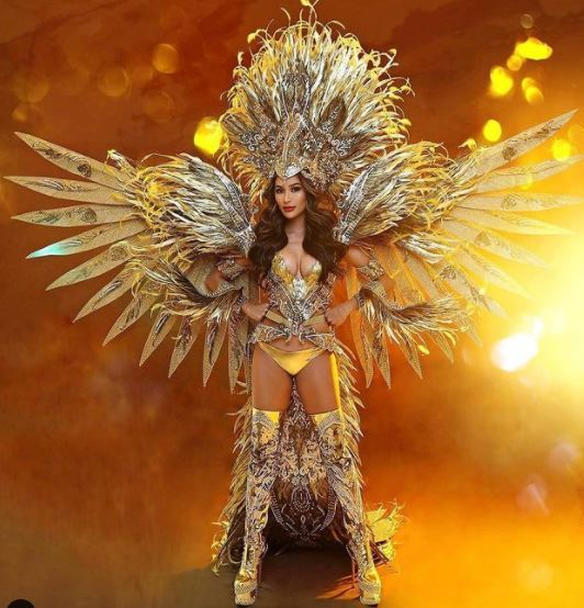 Miss Grand International costume-eagle21