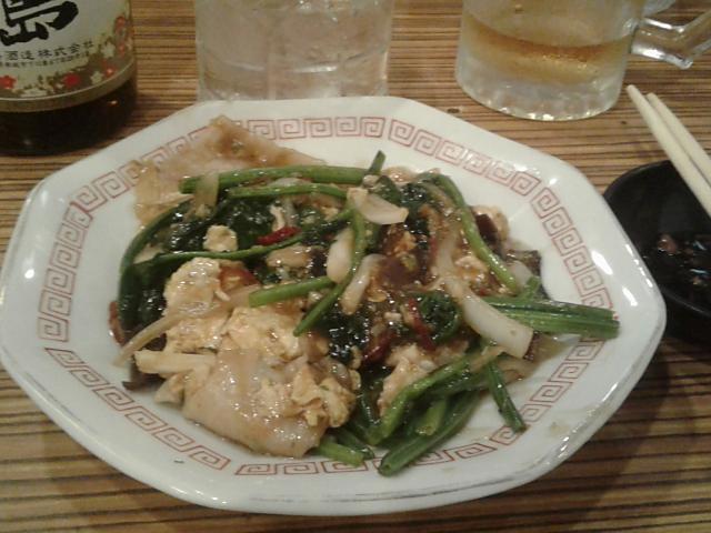 野菜玉子炒め