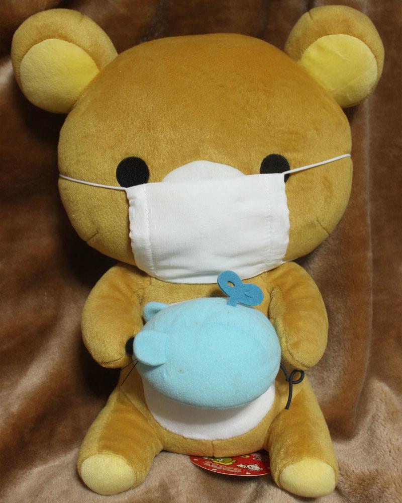 所謂アベノマスク装着中のリラックマ 200613