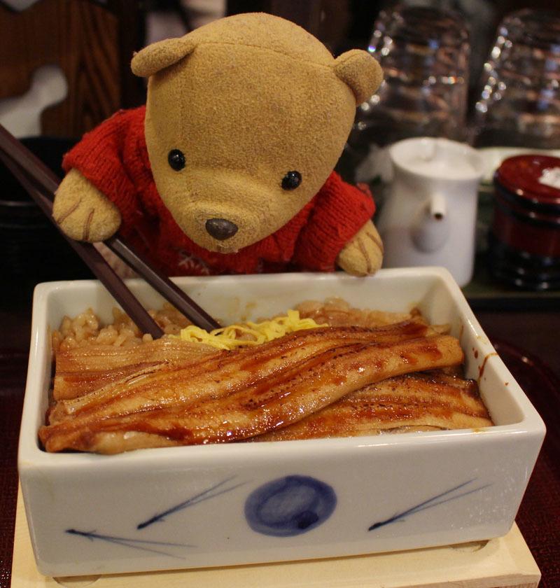 穴子の陶箱飯 を まめたぬき 160728