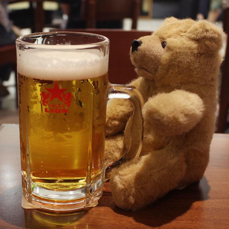 静岡麦酒リッタージョッキと 銀座ライオン静岡ASTY店 180804