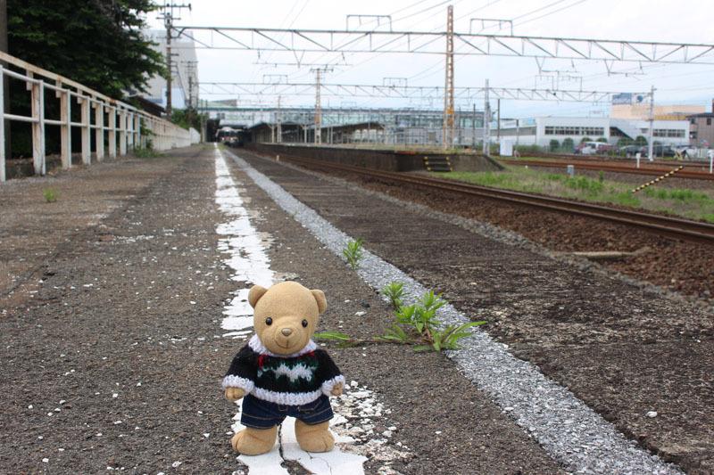 大垣駅1番線ホーム東端から西方向で 190708