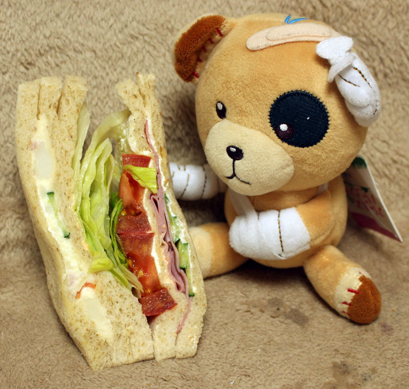 サンデリカ 野菜ミックスサンドを ボコ 200421