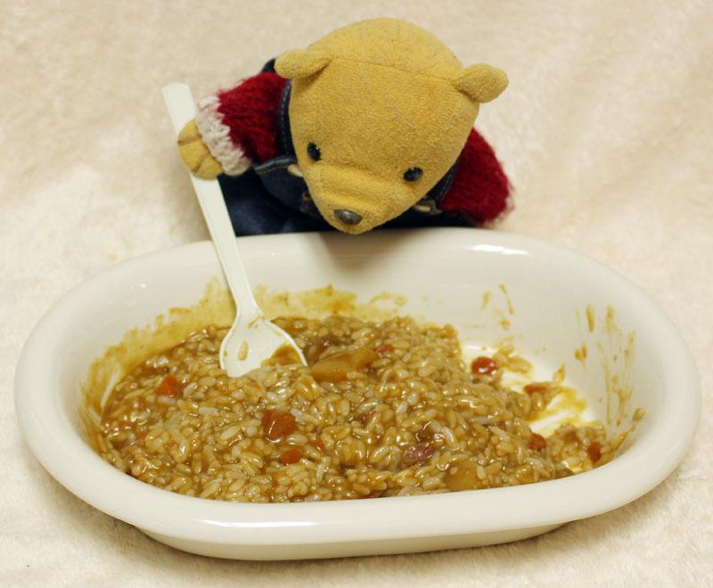 カレーとご飯を混ぜて 201126