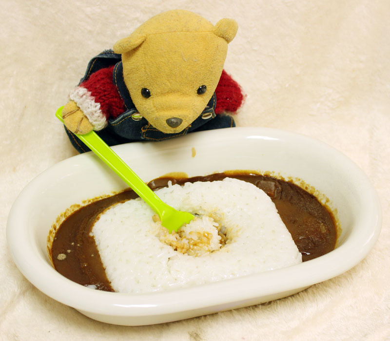 咖喱屋カレー辛口&レトルトご飯を 201127