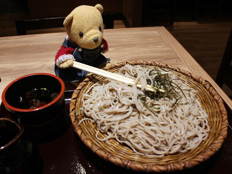 ざるそば(中盛)を おらが蕎麦ASTY静岡 201130