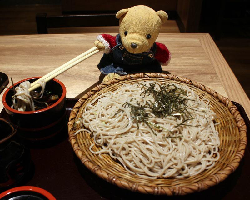 ざるそば(中盛)を汁に おらが蕎麦ASTY静岡 201130