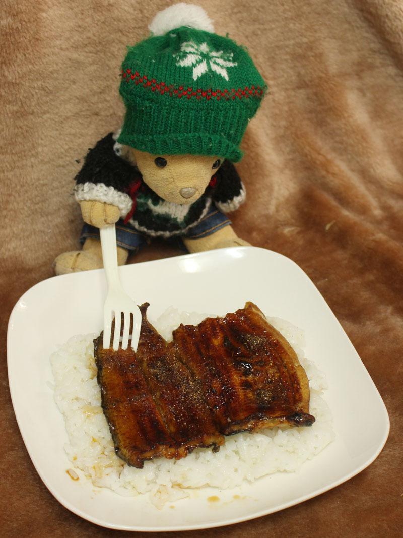 上蒲焼き(なか川支店)+レトルトご飯 を 210129