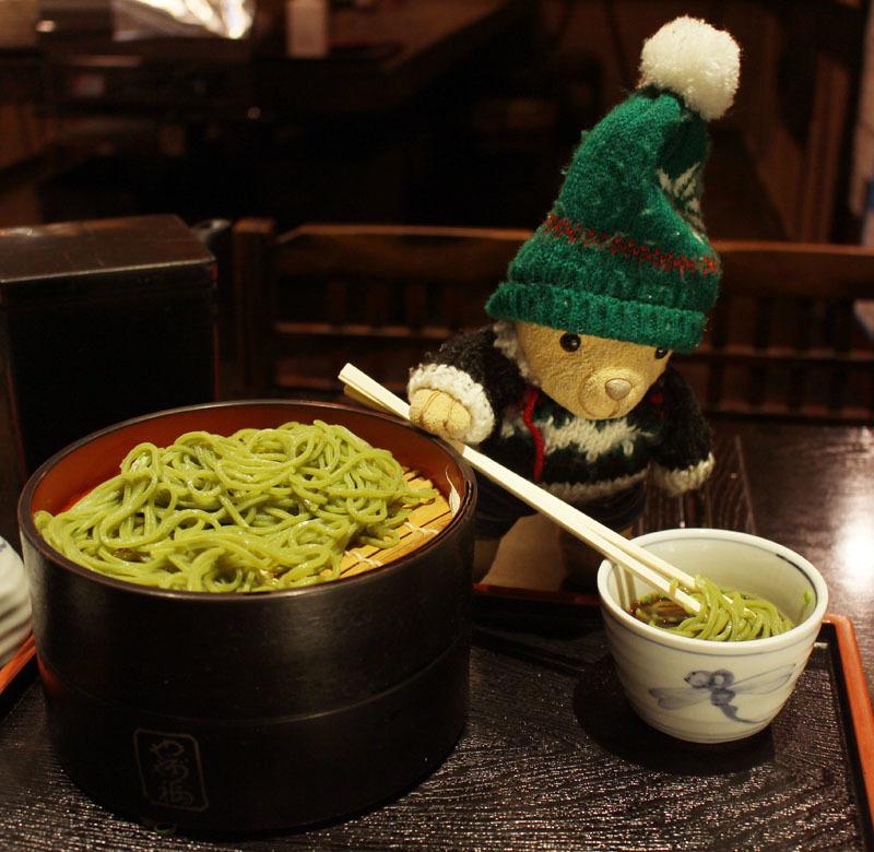 茶そば(やぶ福パルシェ店)を 210130