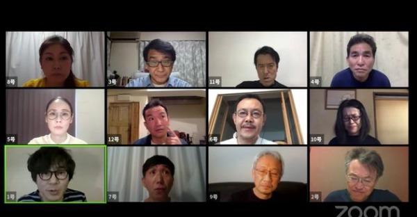 「12人の優しい日本人」(by 三谷幸喜)を読む会  ZOOM サムネイル画像