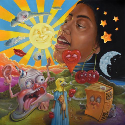 「Girl Eats Sun 」  by Hope Tala サムネイル画像