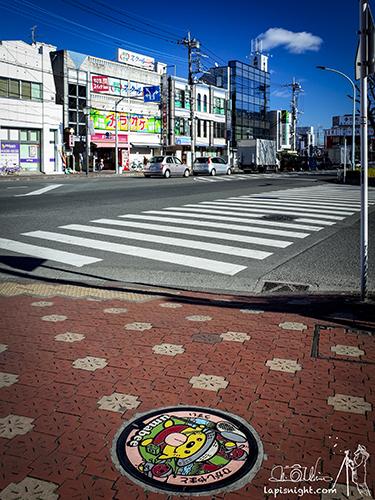 東京都 東大和市 マンホール うまべぇ