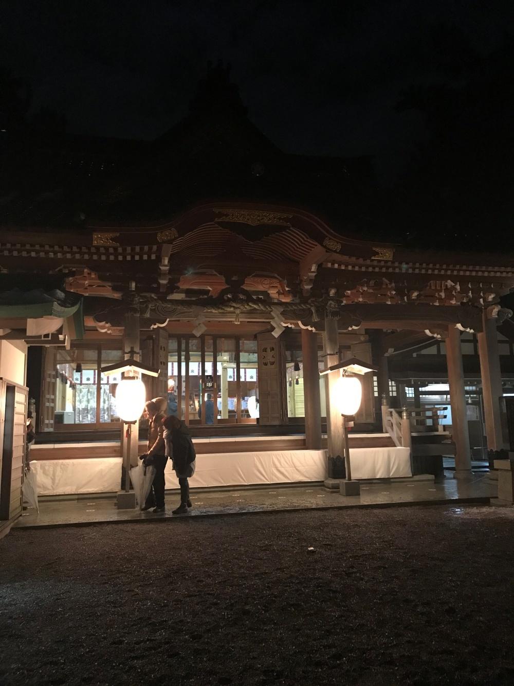 安宅住吉神社 2021年 初詣