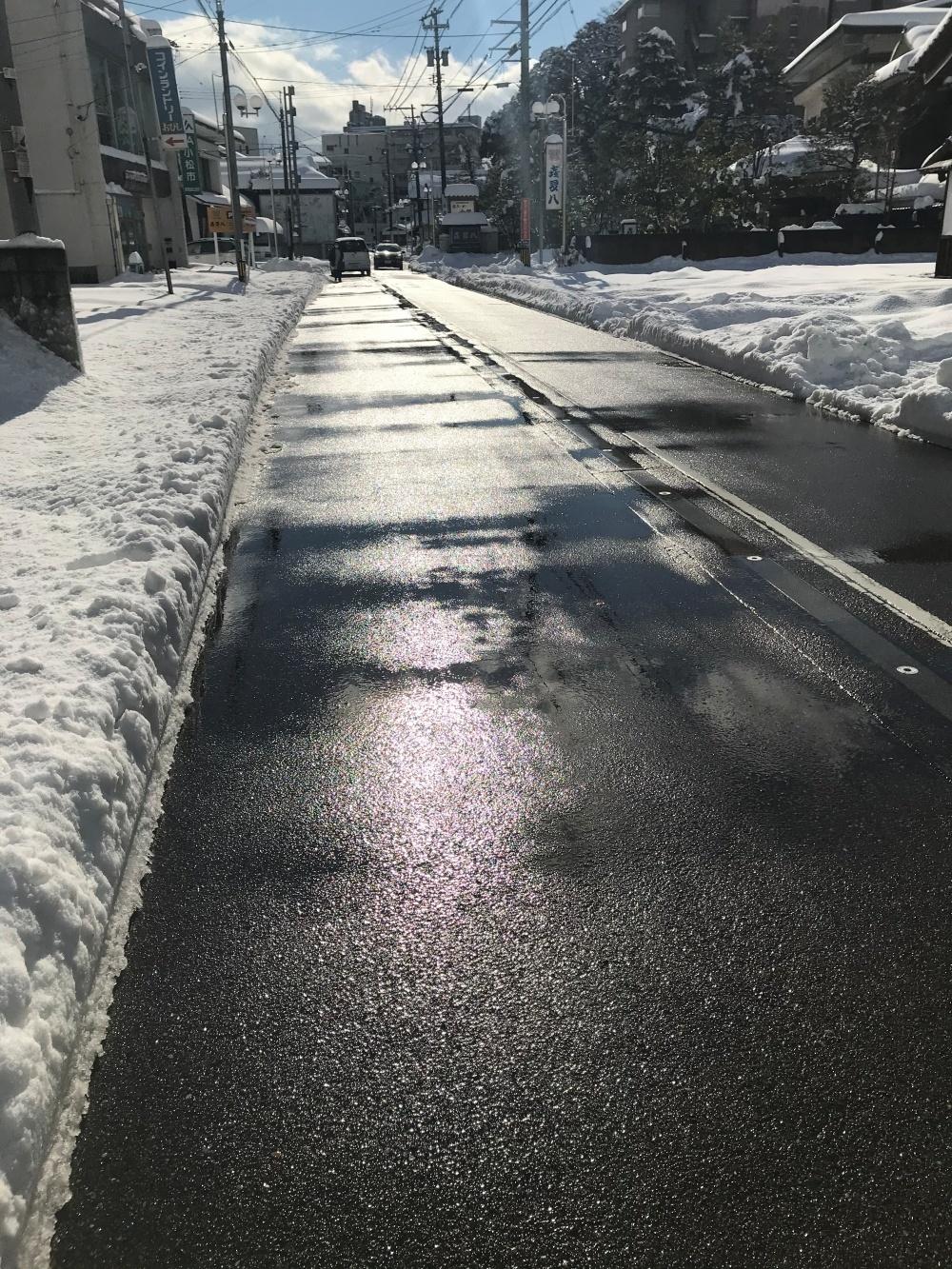 2021年 あわづ温泉 除雪