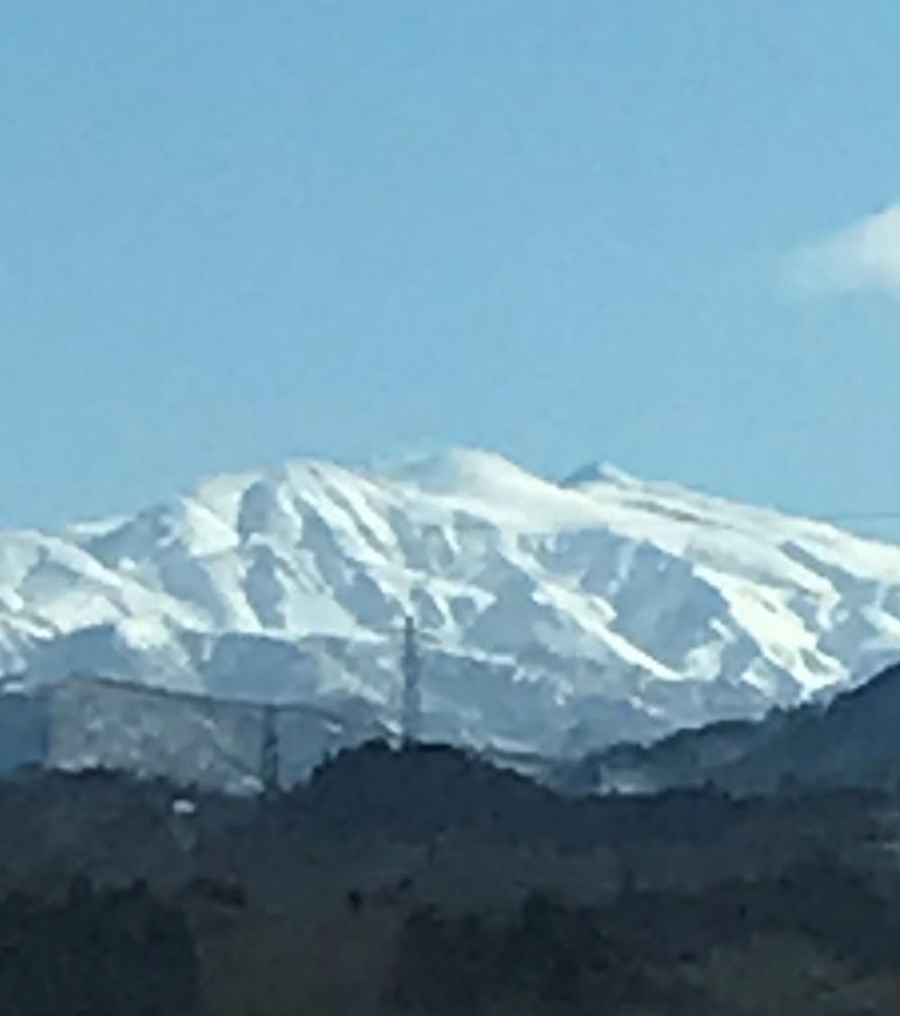 白山 クッキリ白山