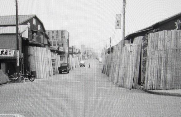 4 20.7.19 昔の木場写真複写、映画「巴里のアメリカ人」「裸の大将」、散歩北コース (52)