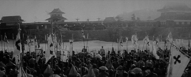 6 20.1.21 駐輪場の虹と米。映画「花の生涯」「天草四郎時貞」 (12)