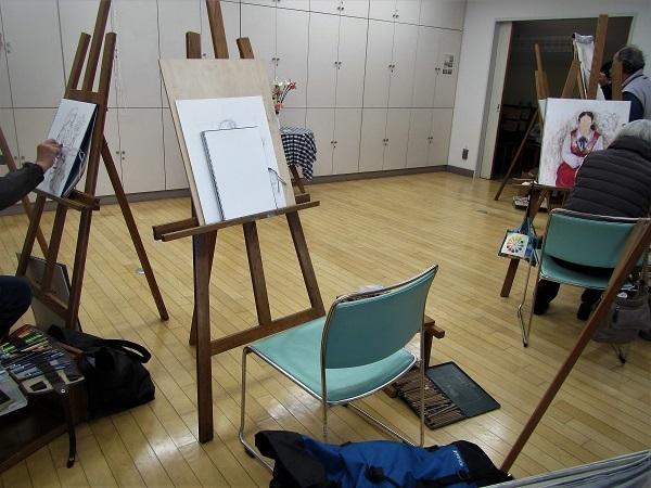 4 20.1.25 絵の教室。映画「男はつらいよ 寅次郎子守唄」 (35)