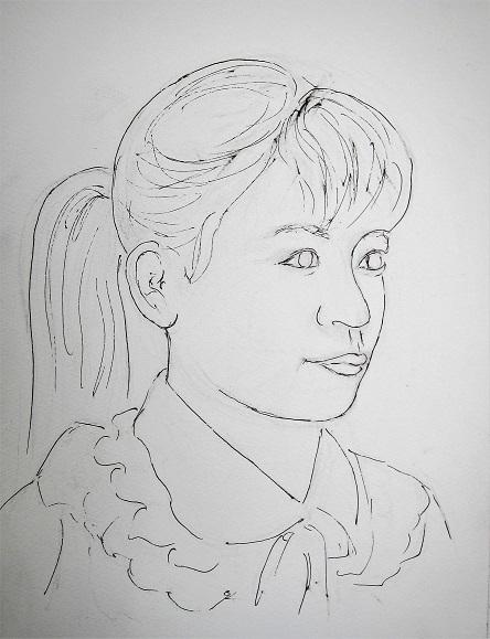 3 21.2.7 妻・古希祝い。絵・二十歳Ⅲ。二十歳・手、映画「素晴らしきかな、人生」「くちづけ」「やわらかい生活」 (83)