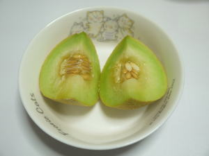 メロン実食