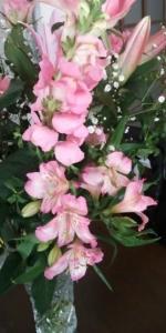 ピンクの花束2