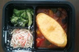 ヨシケイ シンプルミール オムレツのバジルトマトソース