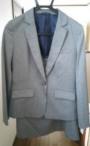 イオン レディース スーツ 文化服装学院 グレー