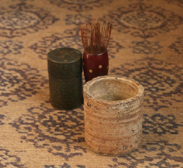 信楽筒型香炉