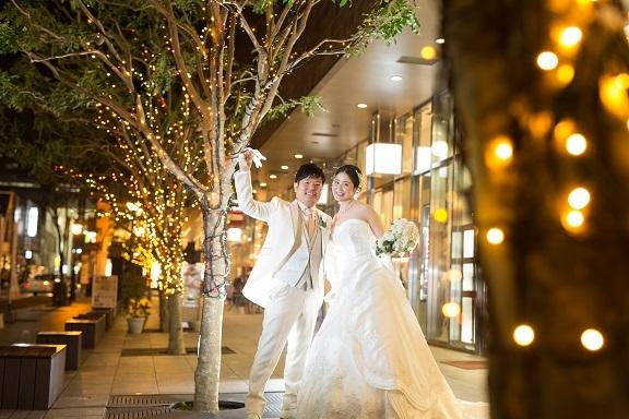 20201017イルミネーション 結婚式
