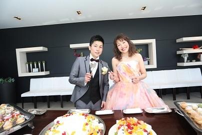 20210211結婚式カップルピンク
