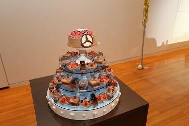 20210214バレンタインチョコレートケーキ