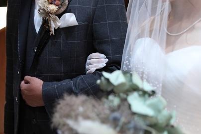 20210308熊本結婚式カップルチャペル腕