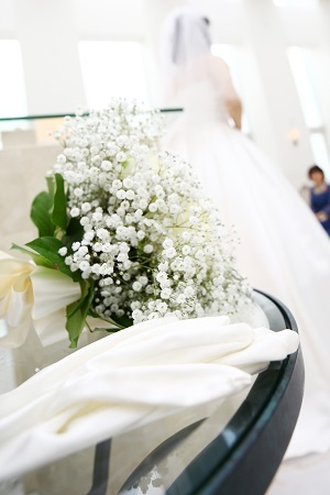 20210404結婚式ブーケドレス