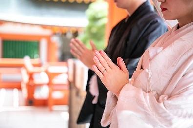 20210405結婚式和婚神社白無垢和装