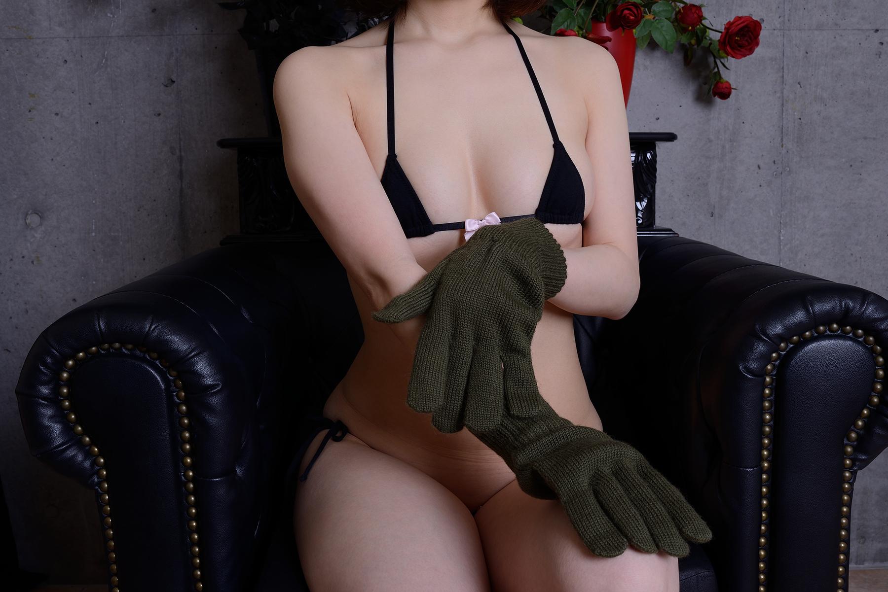 英軍ウール手袋